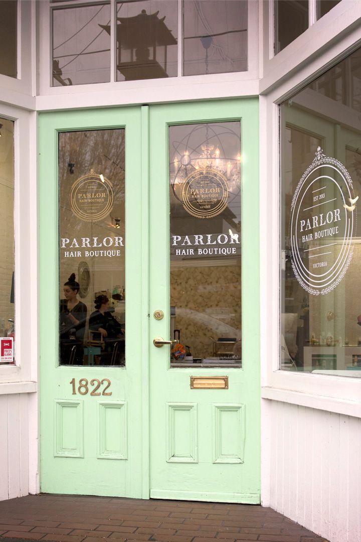 it t shirt boutique hair salon exterior   Google Search