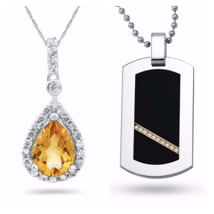 """I just entered into the Samuels Jewelers & Military Bridge """"Veteran's Day"""" Sweepstakes for a chance to win a REVV, 14K White Gold, Titanium and Diamond Accent Dog Tag, Retail Value $199 & a Sterling Silver, Citrine and Diamond Necklace, Retail Value, $219"""
