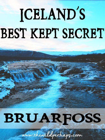 Bruarfoss I Iceland Waterfall I Golden Circle I Iceland Ring Road