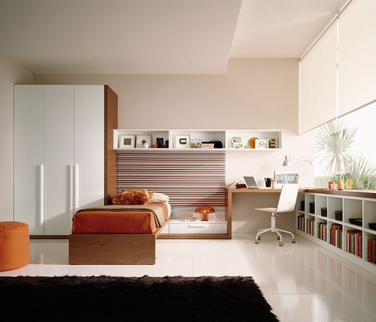Contemporary Teen Bedroom Furniture For more pictures and design ideas, please visit my blog http://pesonashop.com