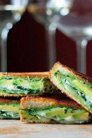 Green Goddess Grilled Cheese | Here Are 15 Meals You Can Make In 15 Minutes