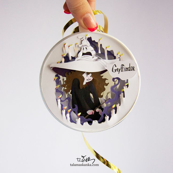 Hermione. Harry Potter series. Christmas decorations