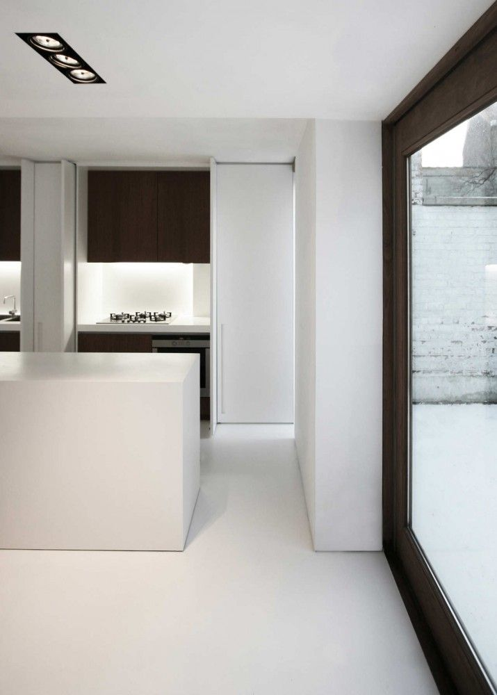 #architecture #design #interiors #white #kitchens #modern #contemporary #minimal #windows - House W-DR by GRAUX & BAEYENS architecten