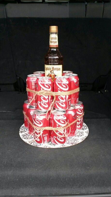 Captain Morgan & Coke Cake!!!