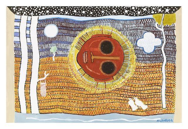 Trevor Nickolls (1949-2012) Floating Head, 2004