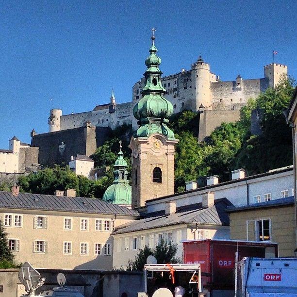 Walked everywhere in Salzburg