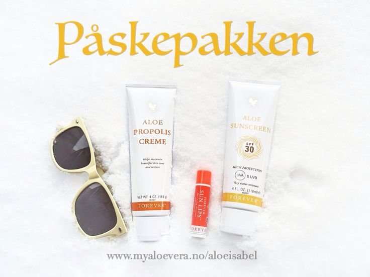 Easter products! -> www.myaloevera.no/aloeisabel