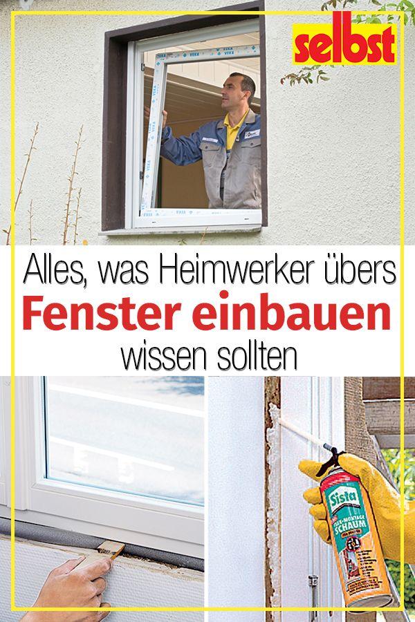 Fenster Einbauen Selbst De Fenster Einbauen Heimwerkerprojekte Heimwerken