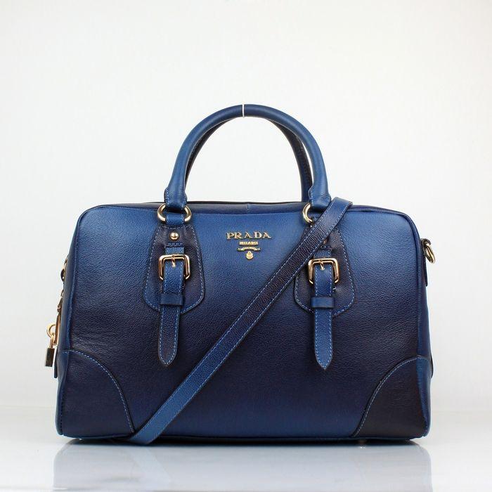 Prada+Handbags | Prada Leather Bags :: Prada Outlet Grain Leather Blue Gradient Bags ...