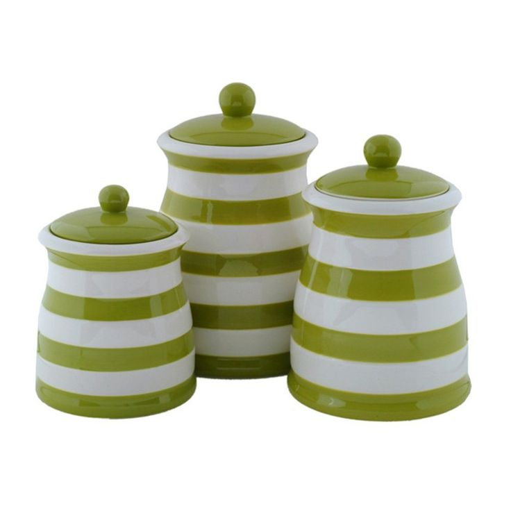 Ceramic Kitchen Canisters >> canisters - Canister Sets | Pinterest