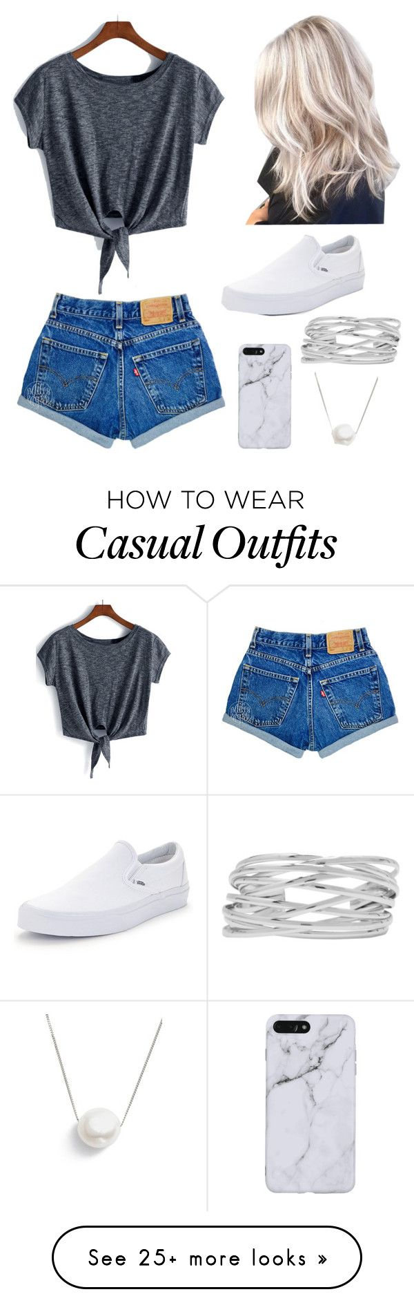 """""""Casual Day"""" by darademing-1 on Polyvore featuring Vans, M&Co and Chan Luu"""