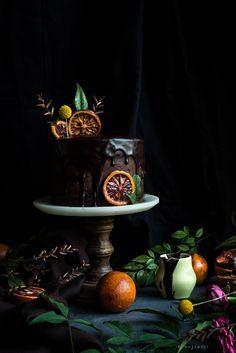 Blood Orange Chocola
