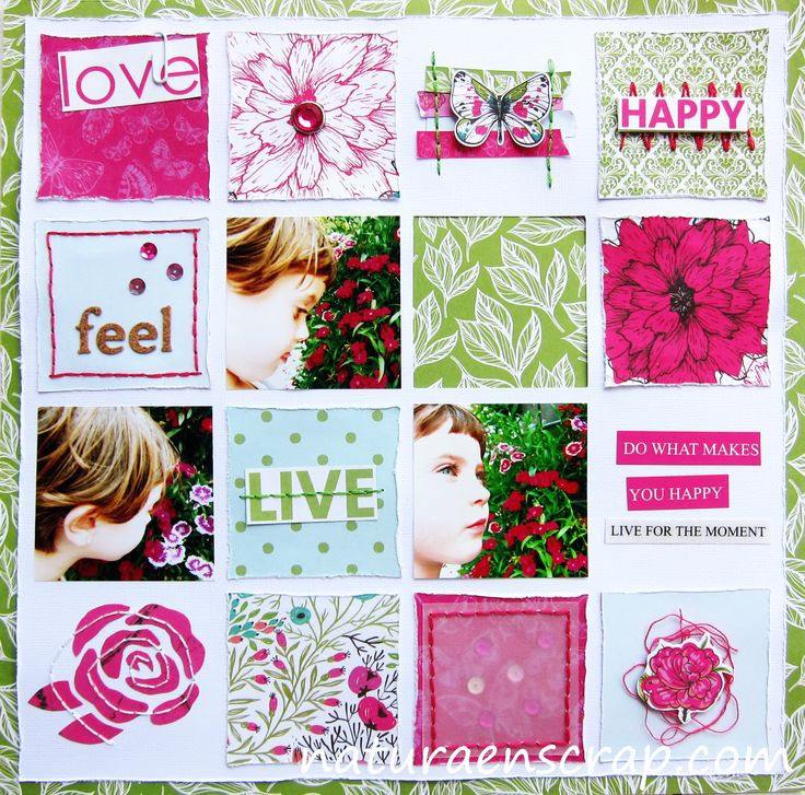 Layout Live. Fly Free del fabricante Kaisercraft