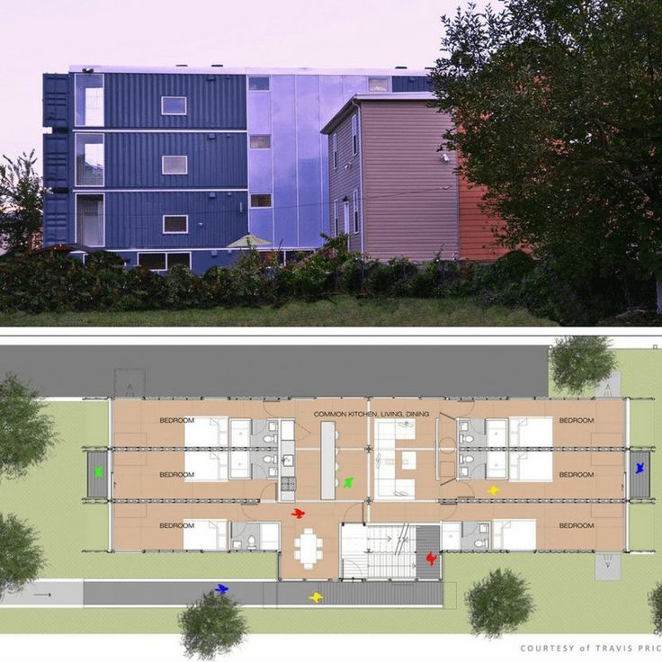 SEA CONTAINER HOUSING DC