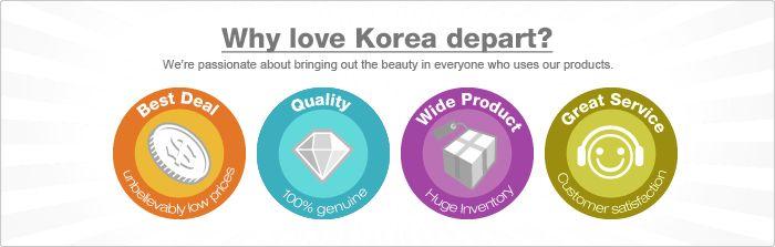 Koreadepart Guideline | Guide to Use | Korean Cosmetics Online Shopping Koreadepart
