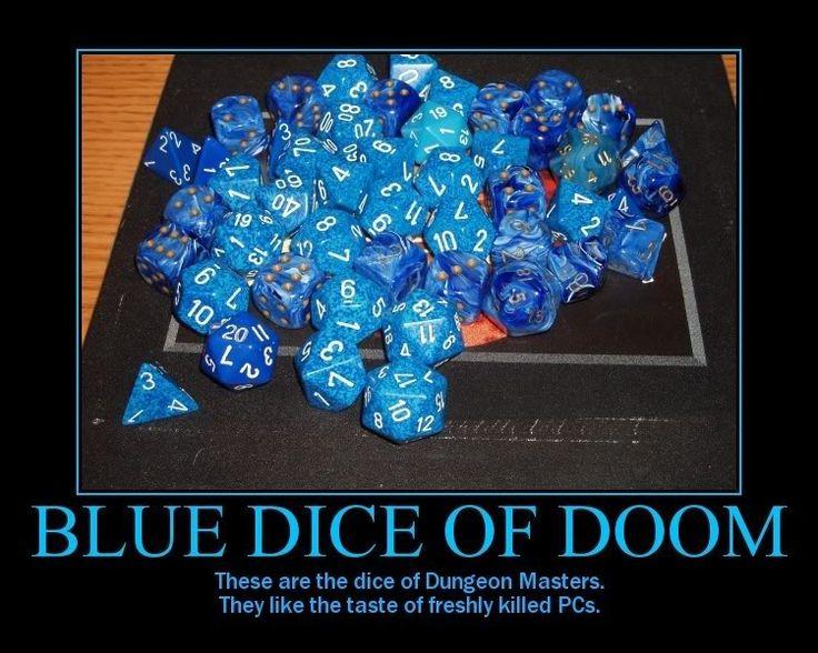 doom dice | Blue Dice Of Doom Photo by Saiuki_Hinamaru | Photobucket