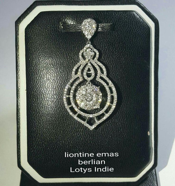 New Arrival🗼. Liontine Emas Berlian Lotys Indie Style💍.   🏪Toko Perhiasan Emas Berlian-Ammad 📲+6282113309088/5C50359F Cp.Antrika👩.  https://m.facebook.com/home.php #investasi#diomond#gold#beauty#fashion#elegant#musthave#tokoperhiasanemasberlian