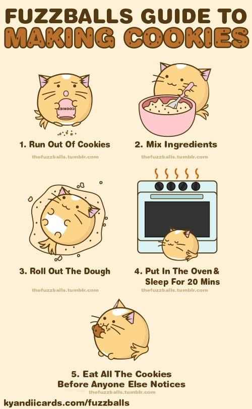 The Fuzzballs guide to making cookies