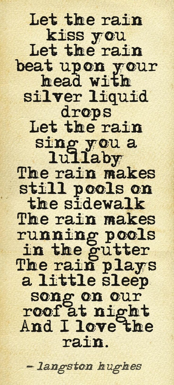 Superb The Rain Plays A Little Sleep Song On The Roof At Night. Love Rain QuotesI  ... Awesome Design