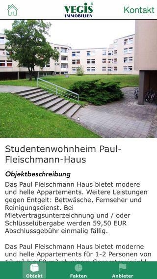 VEGIS Immobilien - Studentenwohnheime, Studentenwohnungen und 1 Zimmer Wohnungen in Deutschland zum mieten von Smartexpose UG