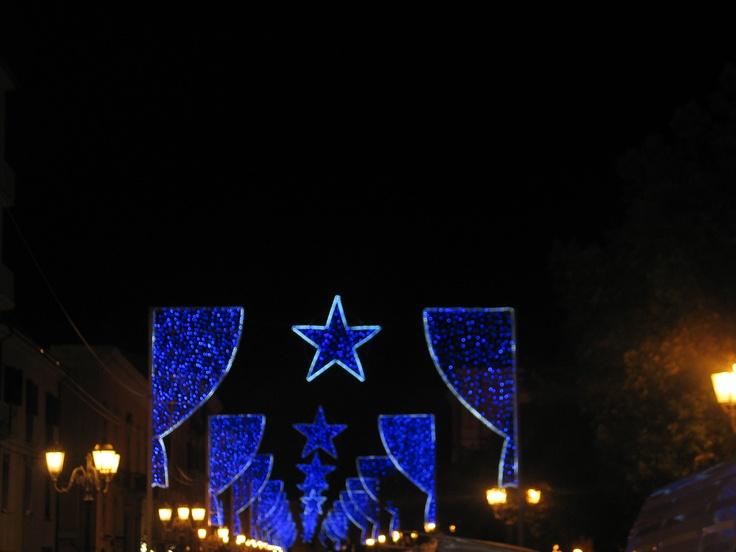 """Corso principale Vittorio Emanuele   """"NAtale Blu"""" Campobasso (Molise) Salotto d'Italia 2009 di STUDIO START COMUNICAZIONI consulenza per conto di metalux"""