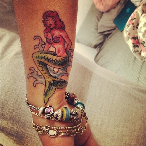 17 Best Images About Tattoos On Pinterest: 17 Best Images About Mermaid Tattoo On Pinterest