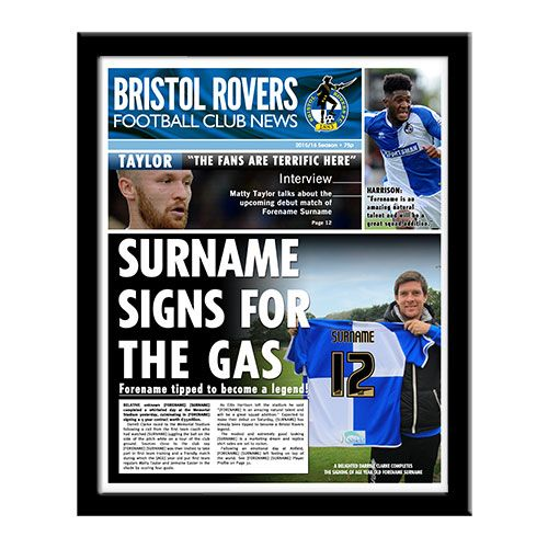 Bristol Rovers Newspaper