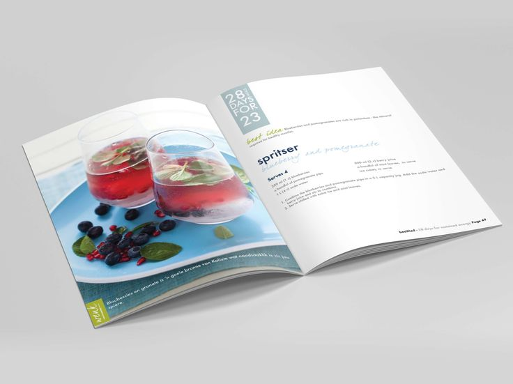 Recipe Booklet for Bestmed by Pink Pigeon Graphic Design © www.pinkpigeon.co.za
