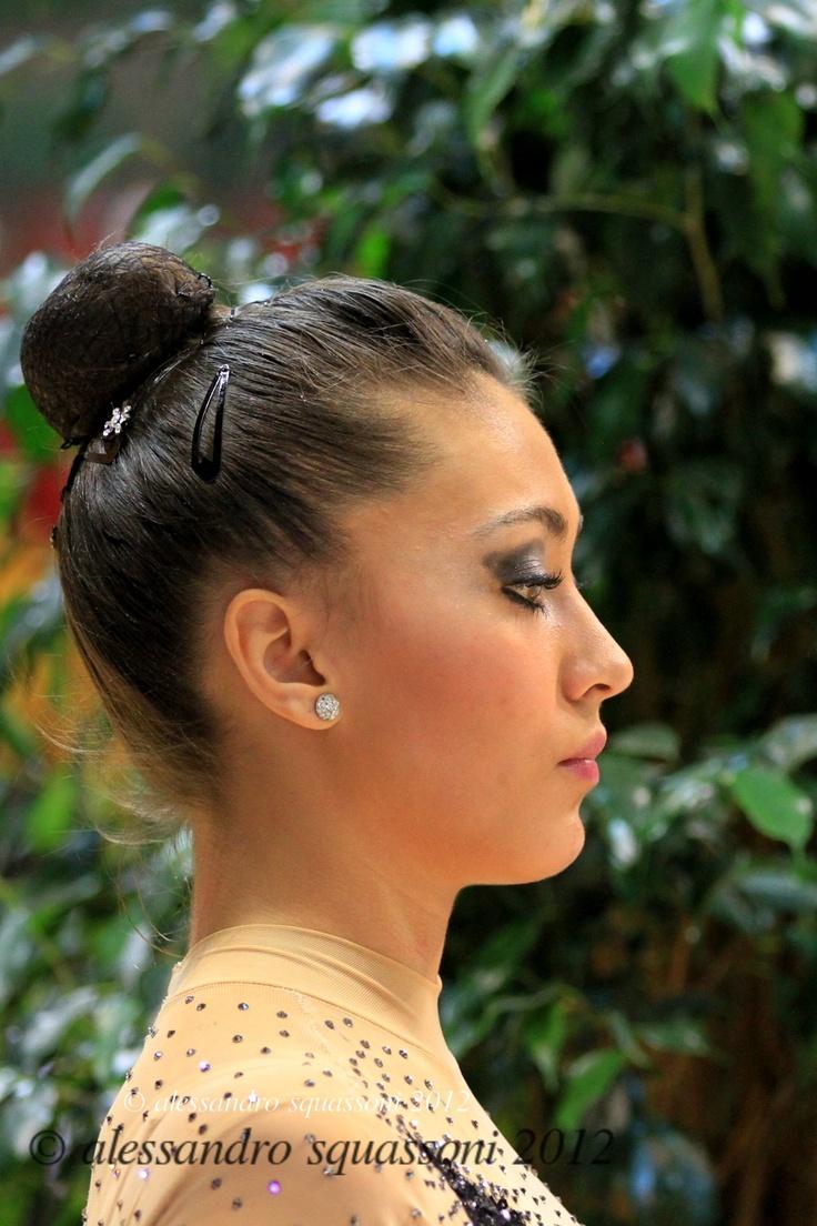 Rhythmic Gymnastics Hairstyles Fade Haircut
