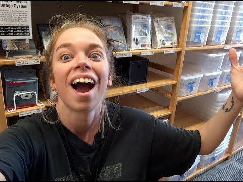 grav3yardgirl ▶ FOLLOW ME AROUND- THE CONTAINER STORE - YouTube