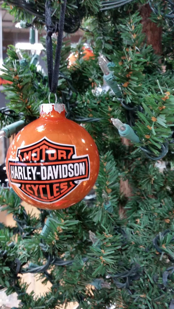 Where Ornaments Davidson Christmas Find I Harley Can