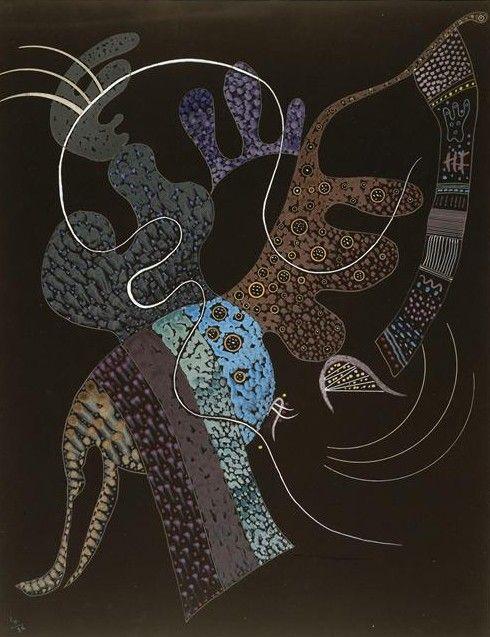 Wassily Kandinsky - White line, 1936