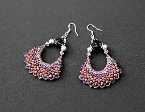 Oriental Fan Earrings, Moroccan Exotic Moon Earrings, Crescent Moon Earrings, Karigari Crescent Hoop Jhumka Earrings, Gypsy Hoop Earrings