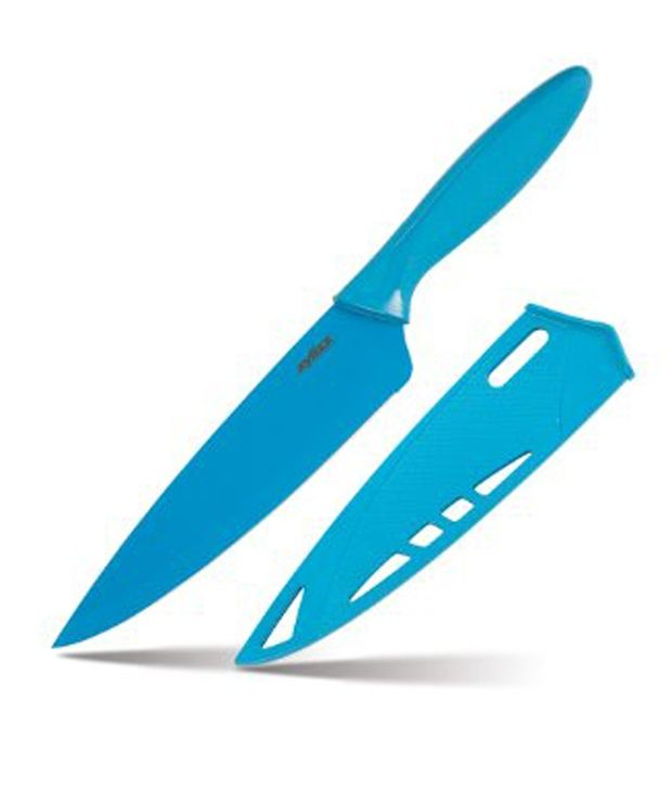 Zyliss Chef's Knife - 7.25 inch Blue Blade - Stainless Steel Knives, http://www.snapdeal.com/product/zyliss-chefs-knife-725-inch/65529999