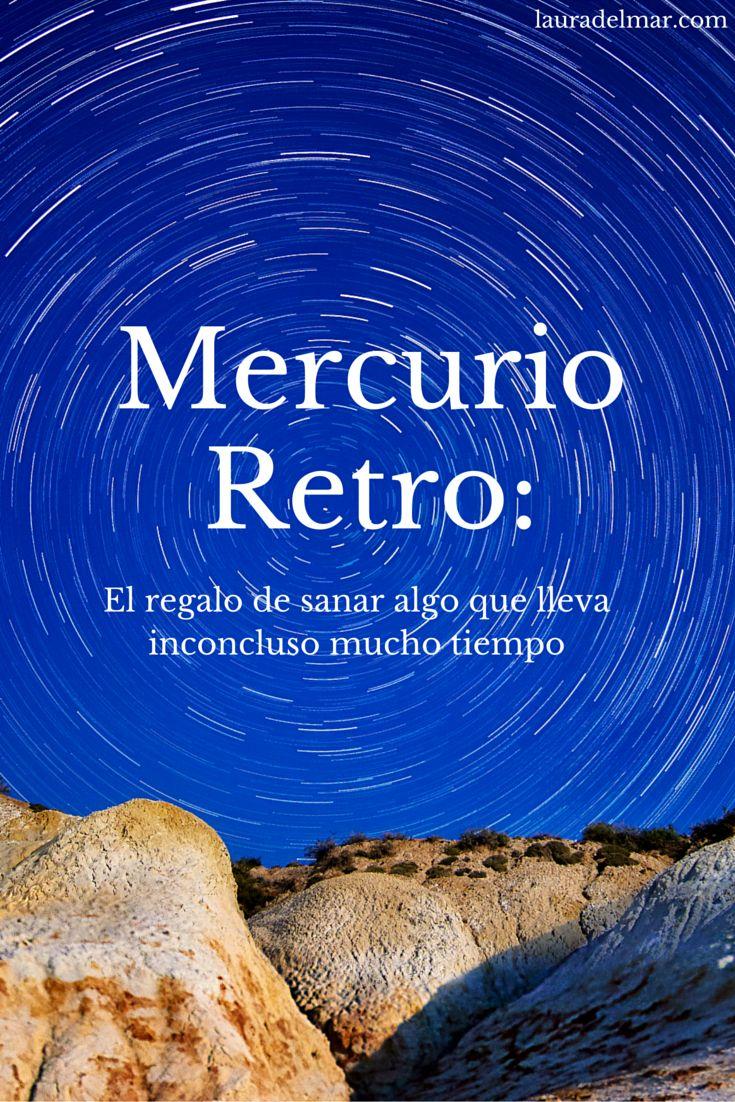 El regalo de Mercurio Retrógrado: concluir viejos proyectos.  Es una maravillosa época para conectarse con los dones, talentos y sueños que dejamos de lado. ¡El regalo de retomar habilidades olvidadas!