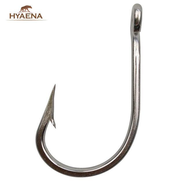 Lot of 6 Hooks 4//0 Treble Hooks