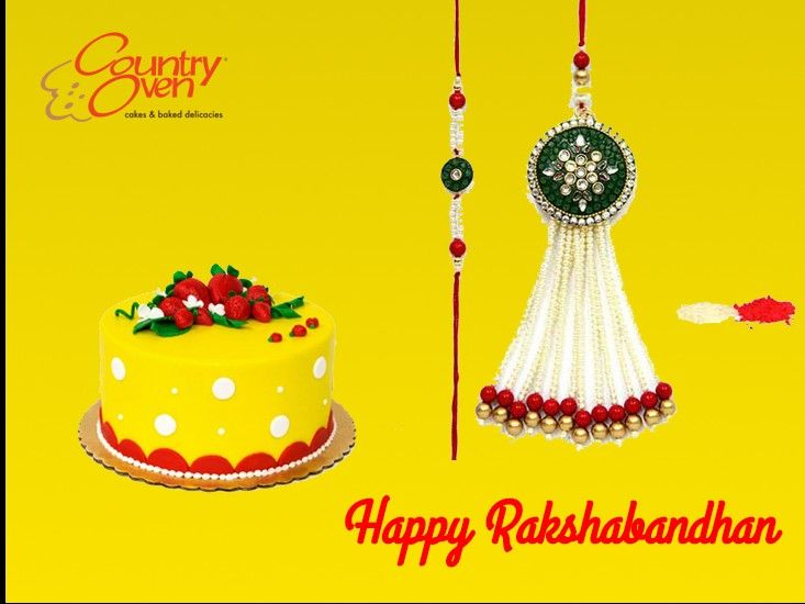 Wish your dear brother a world of happiness with this Rakhi hampers! Convey your sweet wishes and message of love to your dear brother.   #Rakhi #Rakshabandhan #Rakhigifts Order Online @ www.countryoven.com