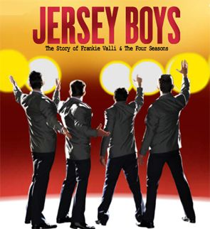 jersey boys - loved the play... minus the excessive cussing