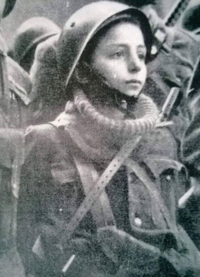 Franco Grechi, mascotte e combattente della X Mas Battaglione Barbarigo
