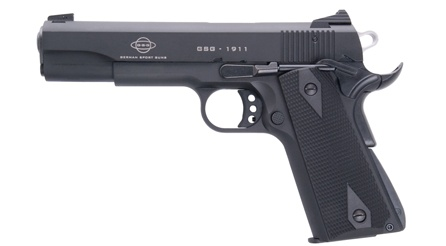 GSG 1911 .22LR - love it!  80% of parts can be swapped out with full size 1911 parts.