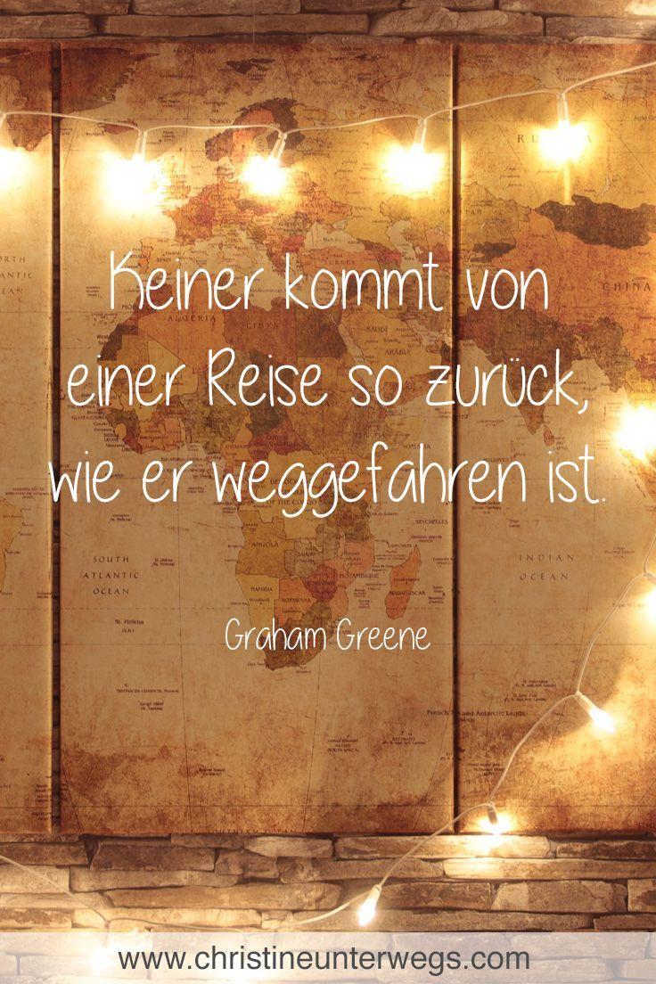 Eines meiner liebsten #Zitate zum Thema #Reisen. Meine #Reiseberichte findest du… – Good Morning World Reiseblog