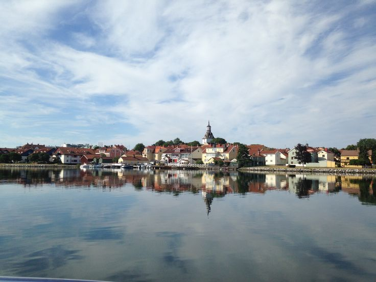 A lovely day at the lake in Västervik, Sweden.
