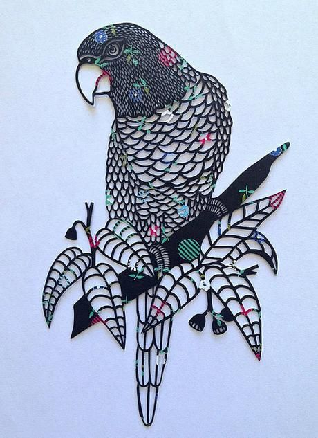 Intricate Paper Cutting by Samantha Quinn of Pretty Paper Dreams