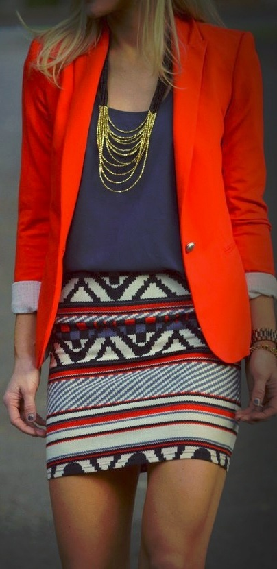 #stitch fix l want the red jacket & like the skirt too