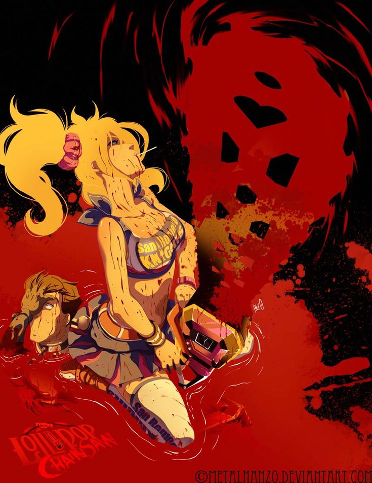 Kickass Lollipop Chainsaw Fan Art.