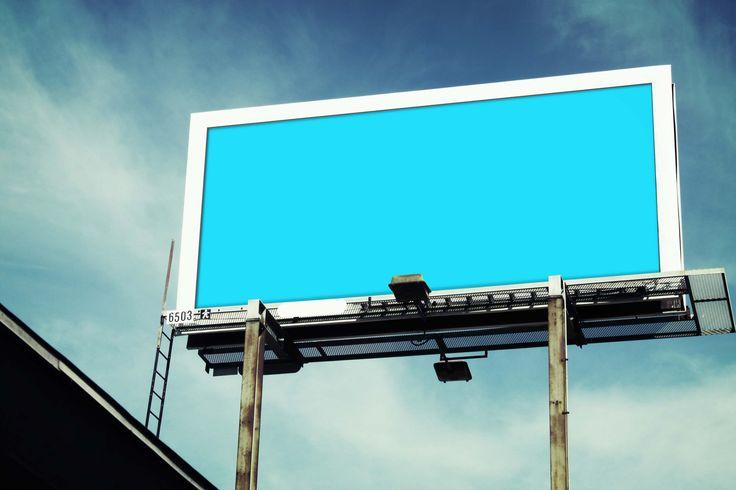 top billboard mockup psd