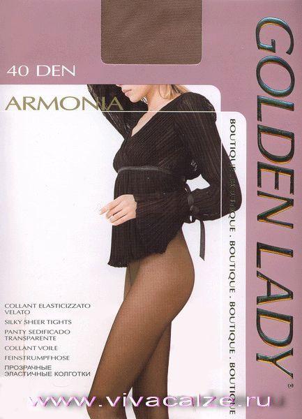 ARMONIA 40 #Колготки тонкие, шелковистые. Ластовица из хлопка. Сформированная ступня с усиленным мыском.