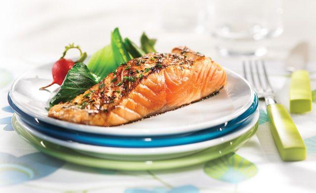 Filet de saumon à la ciboulette et à l'érable