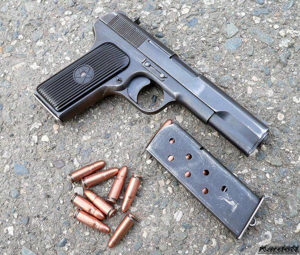 Пистолет TT / TT-33 Russian 7,62mm self-loading pistol
