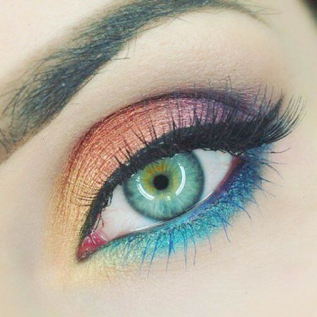 Makeup Artist Interesting Eye Makeup Design For Bright Spring